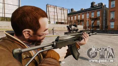 AK-47 pour GTA 4 secondes d'écran