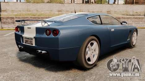 Mise à jour GT Super pour GTA 4 Vue arrière de la gauche
