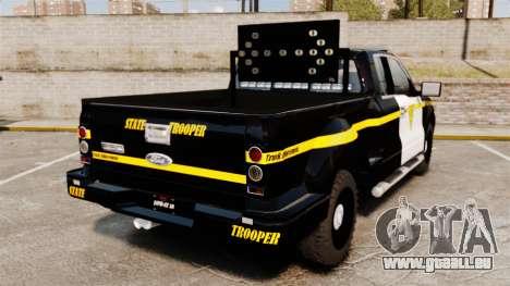 Ford F-150 v3.3 State Trooper [ELS & EPM] v2 für GTA 4 hinten links Ansicht