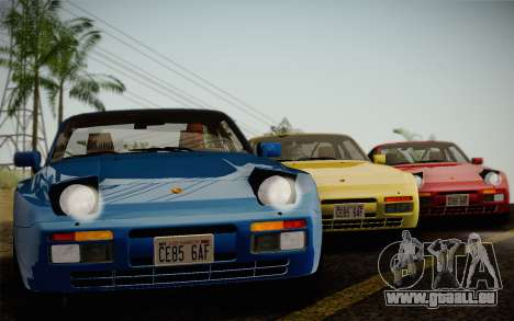 Porsche 944 Turbo Coupe 1985 pour GTA San Andreas