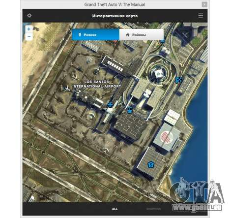 GTA 5 GTA v: Le manuel : le plan de l'espace interacti deuxième capture d'écran
