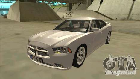 Dodge Charger RT 2011 V2.0 pour GTA San Andreas