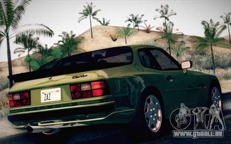 Porsche 944 Turbo Coupe 1985 pour GTA San Andreas laissé vue