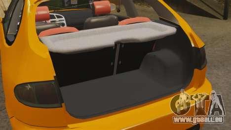 Daewoo Lanos Sport US 2001 pour GTA 4 est un côté