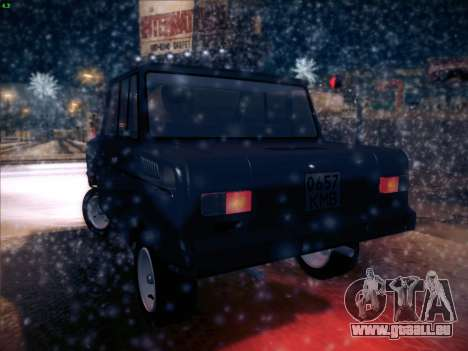 SeAZ-3D pour GTA San Andreas sur la vue arrière gauche