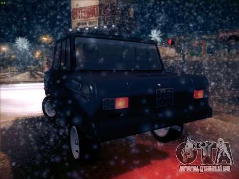 Serpuchowski Awtomobilny Sawod-3D für GTA San Andreas zurück linke Ansicht
