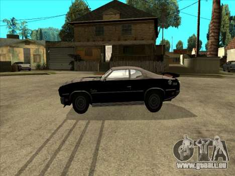 Remington für GTA San Andreas linke Ansicht