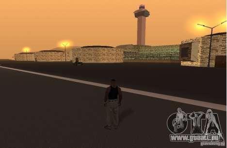 Le nouvel aéroport, Los Santos pour GTA San Andreas deuxième écran