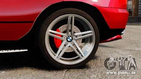 BMW X5 4.8iS v3 pour GTA 4 Vue arrière