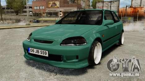 Honda Civic Al Sana pour GTA 4