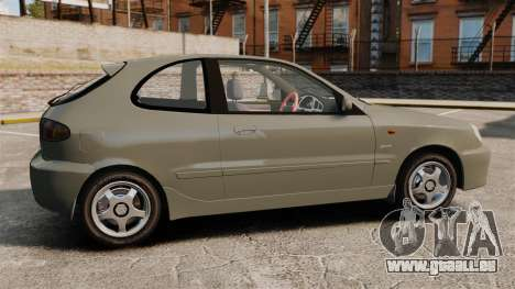 Daewoo Lanos Sport PL 2000 pour GTA 4 est une gauche