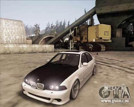 BMW M5 E39 Stanced pour GTA San Andreas