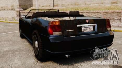 Buffalo limousine für GTA 4 hinten links Ansicht