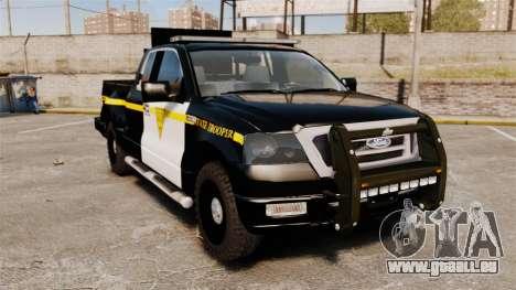 Ford F-150 v3.3 State Trooper [ELS & EPM] v1 pour GTA 4