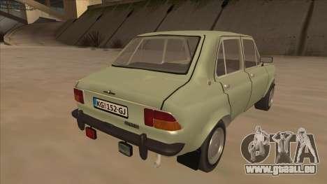 Zastava 1100 pour GTA San Andreas vue de droite