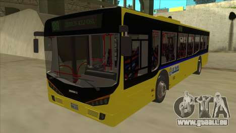 Bus Line 88 Novi Zeleznik für GTA San Andreas