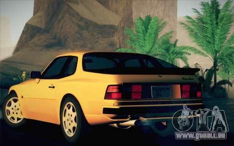 Porsche 944 Turbo Coupe 1985 pour GTA San Andreas vue de droite