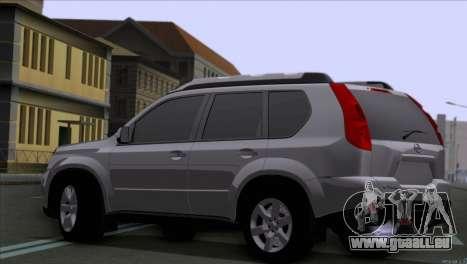 Nissan X-Trail 2007 pour GTA San Andreas laissé vue