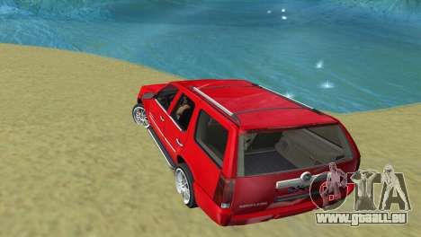Cadillac Escalade pour une vue GTA Vice City de la droite