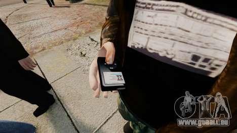 Mise à jour MP3 player pour GTA 4 secondes d'écran