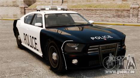 Buffalo policier LAPD v1 pour GTA 4