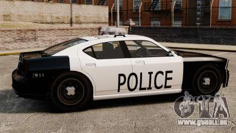 Buffalo policier LAPD v1 pour GTA 4 est une gauche