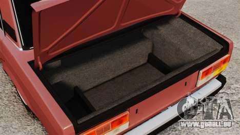 VAZ-2107 für GTA 4 Seitenansicht