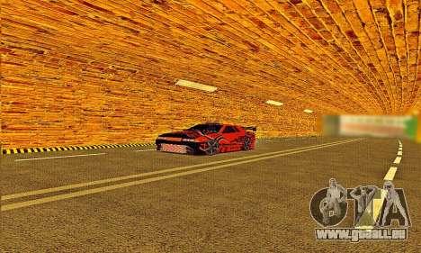 Elegy Sport pour GTA San Andreas sur la vue arrière gauche