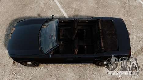 Buffalo limousine für GTA 4 rechte Ansicht