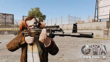 AK-47 pour GTA 4 troisième écran