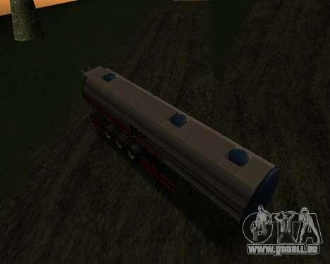 Auflieger Container Xoomer für GTA San Andreas rechten Ansicht