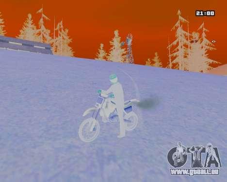 White NarcomaniX Colormode pour GTA San Andreas troisième écran