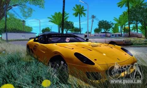 Ferrari 599xx für GTA San Andreas rechten Ansicht