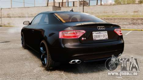 Audi S5 für GTA 4 hinten links Ansicht