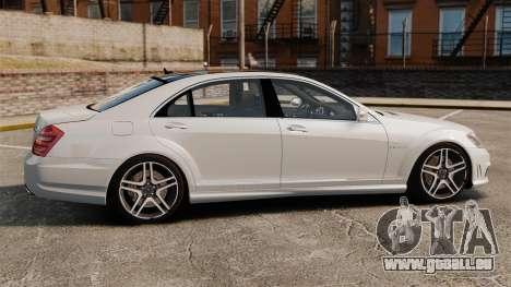 Mercedes-Benz S65 W221 AMG Stock v1.2 pour GTA 4 est une gauche