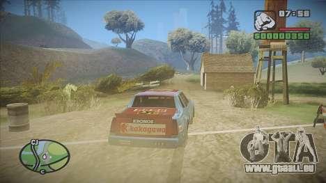 GTA HD Mod für GTA San Andreas