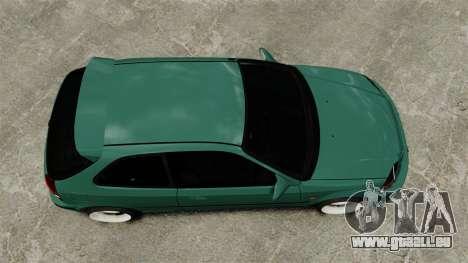 Honda Civic Al Sana pour GTA 4 est un droit