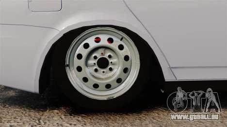 Vaz-2172 Priora pour GTA 4 Vue arrière