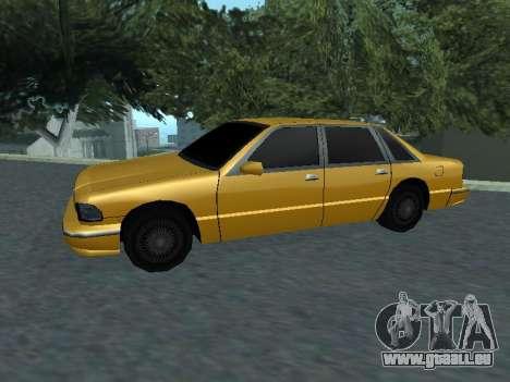 Premier pour GTA San Andreas laissé vue