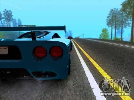 Mosler MT900S 2010 V1.0 für GTA San Andreas Innenansicht