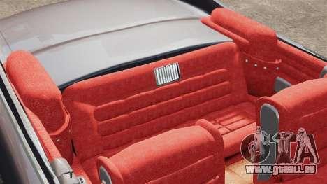 Cadillac Eldorado 1959 v1 pour GTA 4 est une vue de l'intérieur