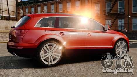 Audi Q7 pour GTA 4 est une gauche