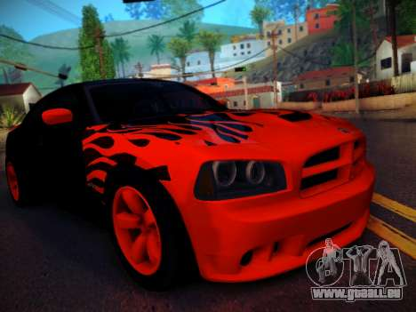 Dodge Charger SRT-8 Tuning pour GTA San Andreas