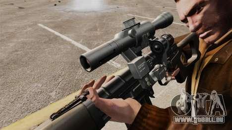 Dragunov sniper rifle v1 pour GTA 4 quatrième écran