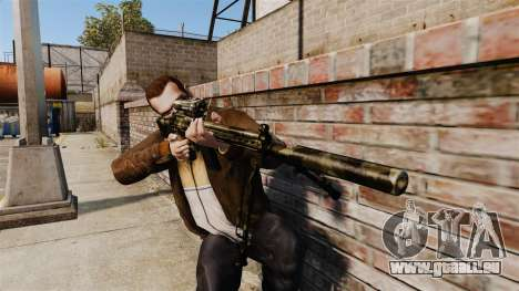 HK G3SG1 sniper rifle v2 pour GTA 4 troisième écran
