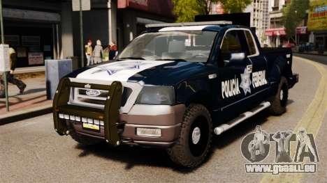 Ford F-150 De La Policia Federal [ELS & EPM] v2 für GTA 4
