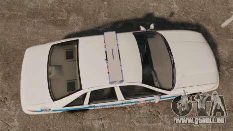 Chevrolet Caprice 1994 [ELS] pour GTA 4 est un droit