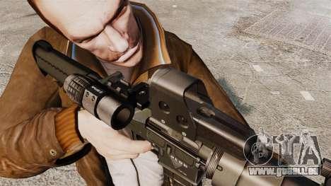 Tactique M4 v3 pour GTA 4 cinquième écran