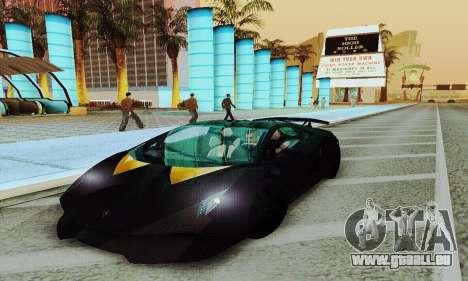 Lamborghini Sesto Elemento für GTA San Andreas rechten Ansicht