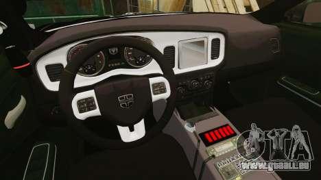 Dodge Charger Pursuit 2012 [ELS] für GTA 4 Rückansicht